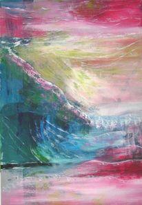 Hoffnung, Seele, Berge, Malerei