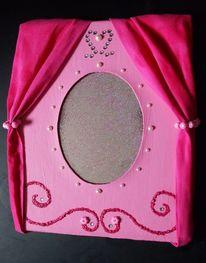 Prinzessin, Reflexion, Glitzern, Pink