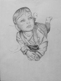 Kind, Junge, Baby, Zeichnungen