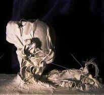 Skulptur, Apokalypse, Reiter, Plastik