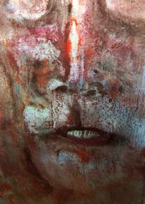 Malerei, Ende, Schlaf, Acrylmalerei