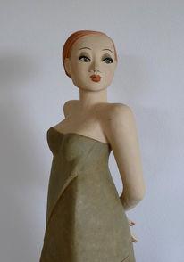 Gartendekoration, Skulptur, Keramik, Plastik