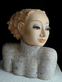 Keramikkunst, Büste, Keramik, Skulptur