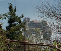 Langensee, Insel, Lago maggiore, Ruine
