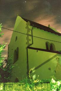 Nacht, Kirche, Fotografie, Architektur