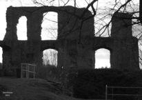 Ruine, Denken, Winterlicht, Melancholie