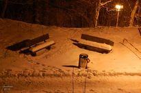 Nacht, Schnee, Dunkel, Silvester