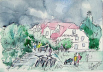 Aquarell, Hiddensee