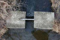 Wasser, Teich, Enge, Spiegelung