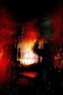 Licht, Skulptur, Glas, Holz
