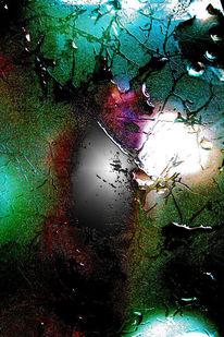 Paprika, Blitz, Farben, Glas
