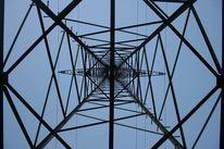 Himmel, Kabel, Strom, Mast