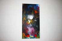 Fingerfertigkeit, Acrylmalerei, Saustall, Verlauftechnik