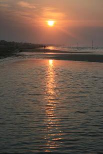 Sonnenaufgang, Himmel, Strand, Meer