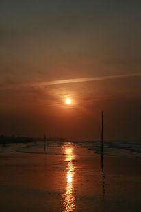 Salz, Welle, Sonnenaufgang, Strand