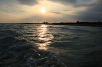 Welle, Meer, Wolken, Sonne