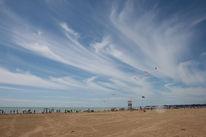 Wind, Himmel, Menschen, Wolken