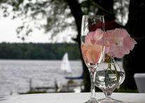 Hochzeit, Segelboot, Lippenstift