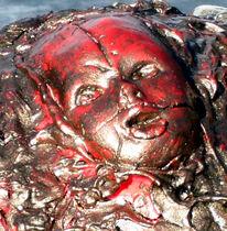Religion, Angst, Schmerz, Skulptur