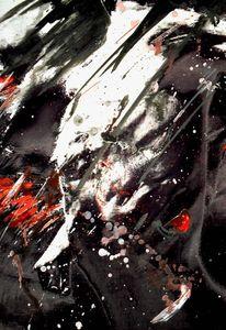 Angst, Flucht, Malerei