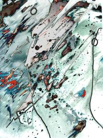 Morbide, Flucht, Abschied, Malerei