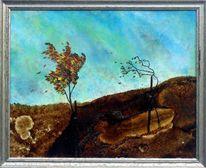 Wind, Sturm, Malerei