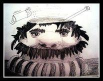 Fantasie, Kopfsuppe, Zeichnungen