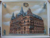 Rostock, Haus, Malerei, Architektur