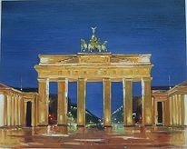 Berlin, Tor, Malerei