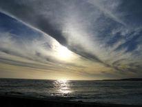 Sonne, Sonnenuntergang, Wolken, Himmel