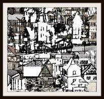 Minimalismus, Wohnung, Schlafzimmer, Artprint
