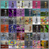 Mann, Nörpel, Farben, Digital