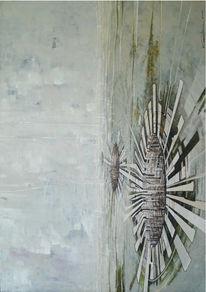 Acrylmalerei, Landschaft, Surreal, Malerei