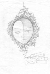 Zeichnungen, Surreal, Yang