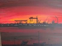Malerei, Sonnenaufgang