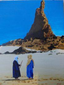 Wüste, Hoggar, Sahara, Tuareg