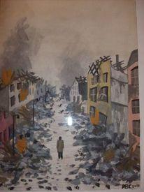 Zerstörung, Ruine, Warschau, Weltkrieg