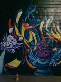 Sprühdose, Hase, Graffiti, Aerosol