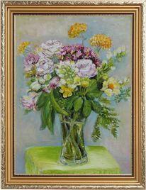 Blumen, Garten, Wasser, Vase