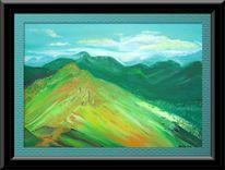 Berge, Malerei,