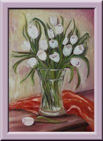 Malerei, Figural, Tulpen