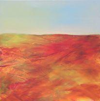 Ausblick, Atmosphäre, Ölmalerei, Malerei