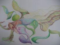 Pastellmalerei, Wald, Malerei, Ausflug