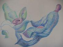Surreal, Pastellmalerei, Malerei