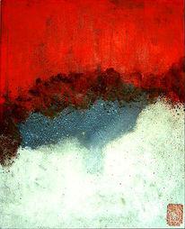 Materialbilder, Abstrakt, Malerei