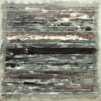 Schwarz, Malerei, Grau, Struktur