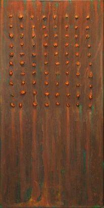 Braun, Rost, Struktur, Malerei