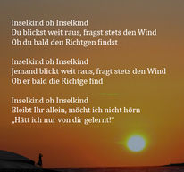 Inselkind, Sehnsucht, Wind, Partner