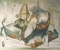 Grafik, Zeichnung, Painted on canvas, Austellung