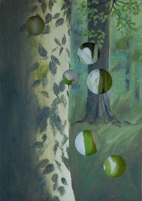 Wald, Grün, Parallelwelt, Paar